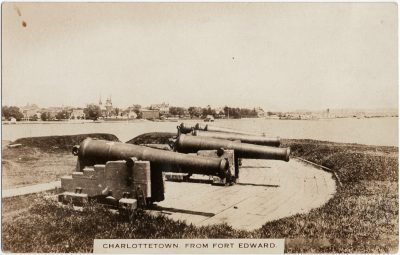 , Charlottetown, From Fort Edward. (2395), PEI Postcards