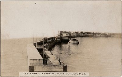 , Car Ferry Terminal, Port Borden, P.E.I. (2378), PEI Postcards
