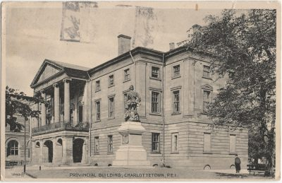 , Provincial Building, Charlottetown, P.E.I. (2408), PEI Postcards
