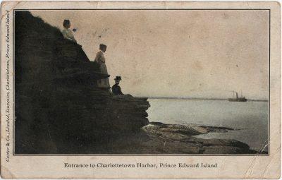 , Entrance to Charlottetown Harbor, Prince Edward Island (2417), PEI Postcards