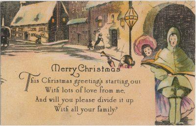, Merry Christmas (2438), PEI Postcards