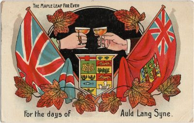 , The Maple Leaf Forever. (2437), PEI Postcards