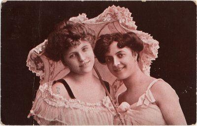 , Two smiling women. (2431), PEI Postcards