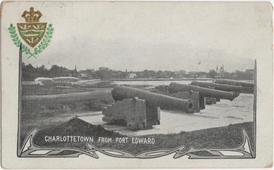, Charlottetown from Fort Edward (2484), PEI Postcards
