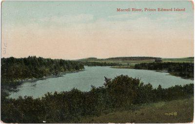 , Morrell River, Prince Edward Island. (2465), PEI Postcards