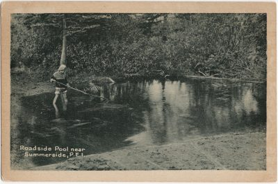, Roadside Pool near Summerside, P.E.I. (2456), PEI Postcards