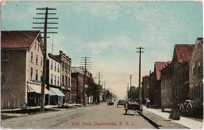 , Kent Street, Charlottetown, P.E.I. (2457), PEI Postcards