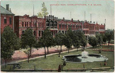 , Victoria Row, Charlottetown, P.E. Island. (2452), PEI Postcards