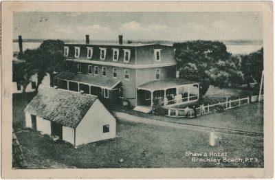 , Shaw's Hotel Brackley Beach, P.E.I. (2447), PEI Postcards