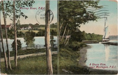 , Murray River, P.E.I. // A Shore View, near Montague, P.E.I. (2509), PEI Postcards