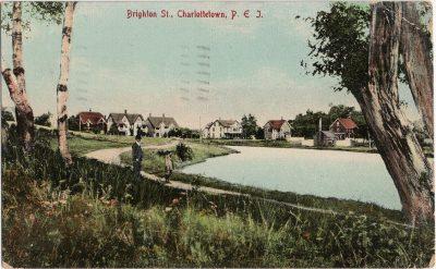 , Brighton St., Charlottetown, P.E.I. (2511), PEI Postcards