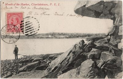 , Mouth of the Harbor, Charlottetown, P.E.I. (2501), PEI Postcards