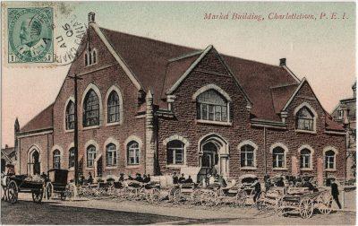 , Market Building, Charlottetown, P.E.I. (2503), PEI Postcards