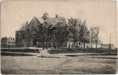 , Prince of Wales College, Charlottetown, P.E.I. (2500), PEI Postcards