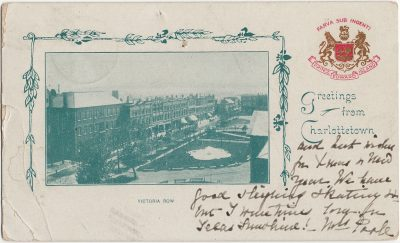 , Greetings from Charlottetown Victoria Row (2505), PEI Postcards