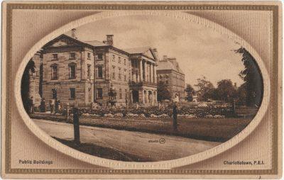 , Public Buildings Charlottetown, P.E.I. (2497), PEI Postcards