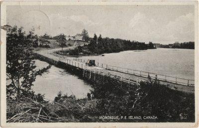 , Montague, P.E. Island, Canada. (2491), PEI Postcards