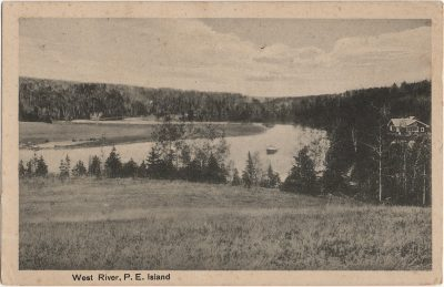 , West River, P.E. Island (2490), PEI Postcards