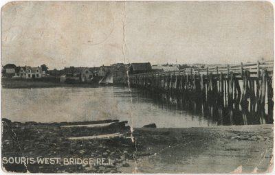 , Souris West Bridge, P.E.I. (2549), PEI Postcards