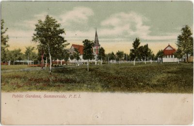 , Public Gardens, Summerside, P.E.I. (2547), PEI Postcards