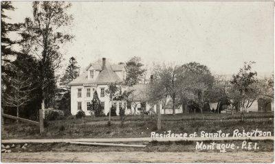 , Residence of Senator Robertson Montague, P.E.I. (2540), PEI Postcards