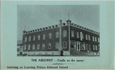 , The Abegweit (Cradle on the Waves) Arriving or Leaving Prince Edward Island. Borden PEI 193…     Canada (2524), PEI Postcards
