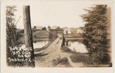 , Fortune Bridge near Souris, P.E.I. (2523), PEI Postcards