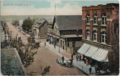 , Main St. Souris, P.E.I. (2520), PEI Postcards