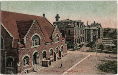 , Public Buildings, Charlottetown, P.E.I. (2517), PEI Postcards