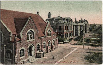 , Public Buildings, Charlottetown, P.E.I. (2518), PEI Postcards