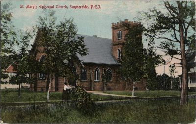 , St. Mary's Episcopal Church, Summerside, P.E.I. (2515), PEI Postcards
