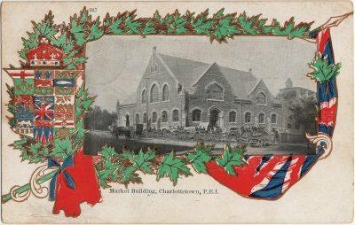 , Market Building, Charlottetown, P.E.I. (2577), PEI Postcards