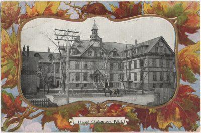, Hospital, Charlottetown, P.E.I. (2578), PEI Postcards