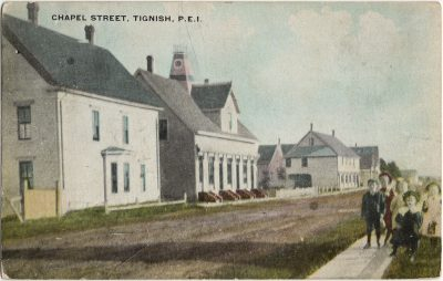 , Chapel Street, Tignish, P.E.I. (2570), PEI Postcards
