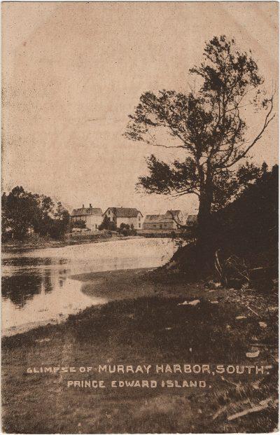 , Glimpse of Murray Harbor, South. Prince Edward Island. (2567), PEI Postcards