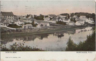 , North Side Montague, P.E.I. (2568), PEI Postcards