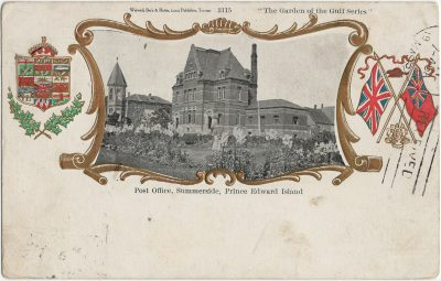 , Post Office, Summerside, Prince Edward Island (2562), PEI Postcards