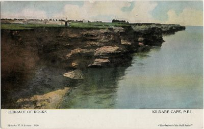 , Terrace of Rocks Kildare Cape, P.E.I. (2563), PEI Postcards
