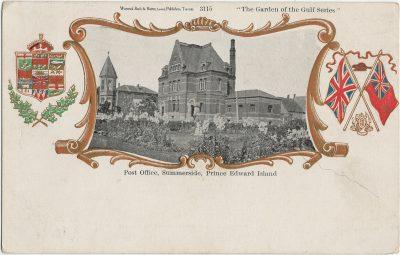 , Post Office, Summerside, Prince Edward Island (2561), PEI Postcards