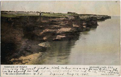 , Terrace of Rocks Kildare Cape, P.E.I. (2560), PEI Postcards