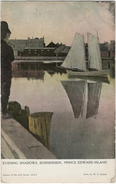 , Evening Shadows, Summerside, Prince Edward Island (2600), PEI Postcards