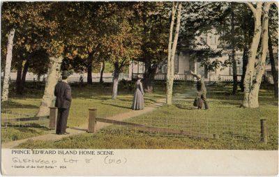 , Prince Edward Island Home Scene (2598), PEI Postcards