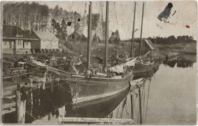 , Souvenir of Montague, Prince Edward Island (2641), PEI Postcards