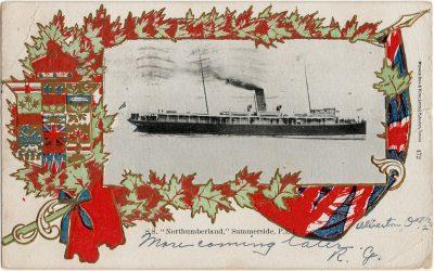 ", S.S. ""Northumberland,"" Summerside, P.E.I. (2652), PEI Postcards"