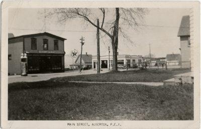 , Main Street, Alberton, P.E.I. (2631), PEI Postcards