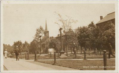 , Queen Square, Charlottetown (2627), PEI Postcards
