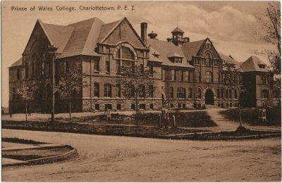 , Prince of Wales College, Charlottetown, P.E.I. (2628), PEI Postcards