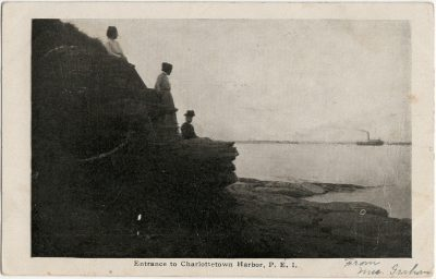 , Entrance to Charlottetown Harbor, P.E.I. (2625), PEI Postcards