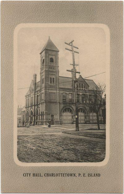 , City Hall, Charlottetown, P.E. Island (2626), PEI Postcards