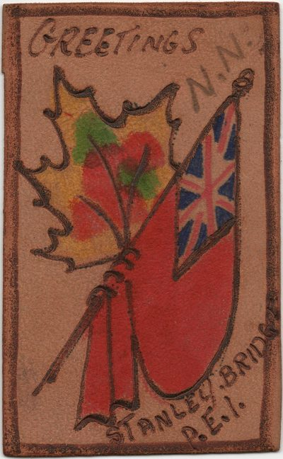 , Greetings NN Stanley Bridge, P.E.I. (2624), PEI Postcards
